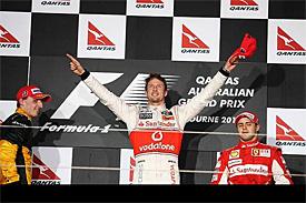 Button ovládl GP Austrálie