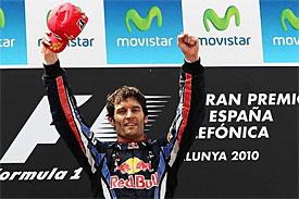 V Barceloně triumfoval Webber