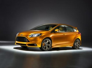 Ford přiveze do Paříže koncept Focus ST