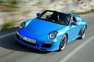 Porsche 911 Speedster – modrý bonbónek