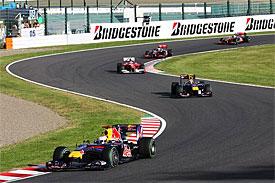 Vettel v Japonsku zaútočil na titul