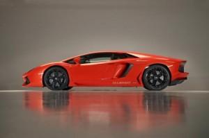 Lamborghini Aventador na dalších fotografiích