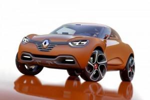 Renault přiveze do Ženevy koncept Captur