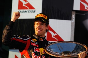 Vettel vykročil za obhajobou titulu