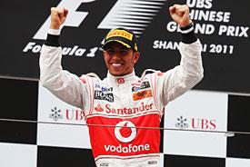 Hamilton ukončil Vettelovu sérii