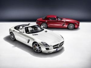 Mercedes SLS AMG Roadster: Gullwing ztratil střechu a křídla