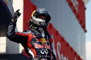 GP Španělska: Vettel nedal Hamiltonovi šanci