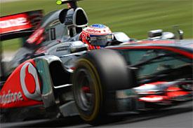 Button zvítězil v GP Maďarska
