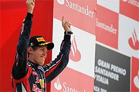 Vettel si z Itálie odvezl další triumf