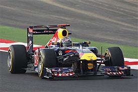 Vettel neohroženě zvítězil v první GP Indie