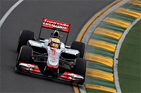 Vozy McLaren ovládly kvalifikaci v Melbourne
