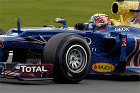 Webber získal v Anglii druhé letošní vítězství