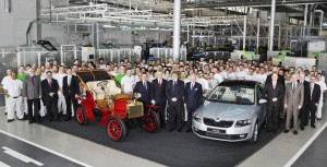 Škoda Auto vyrobila 15 milionů automobilů