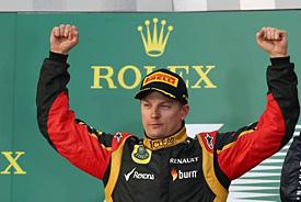 Sezónu F1 zahájil vítězně Räikkönen