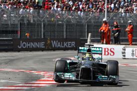 V Monaku triumfoval domácí Rosberg