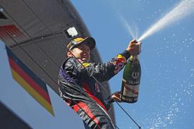 Vettel poprvé vítězem GP Německa