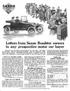 saxon motors reklama