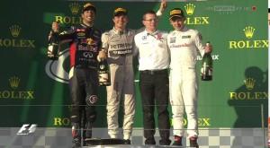 Rosberg v Austrálii vymazal soupeře
