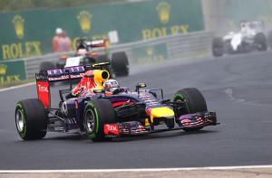 GP Maďarska ovládl Ricciardo