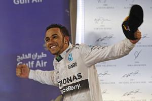 Hamilton je opět králem GP Bahrajnu